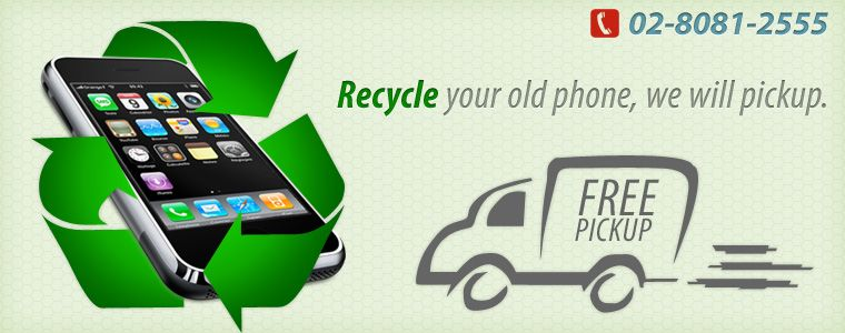 recycle phone, free pick-up
