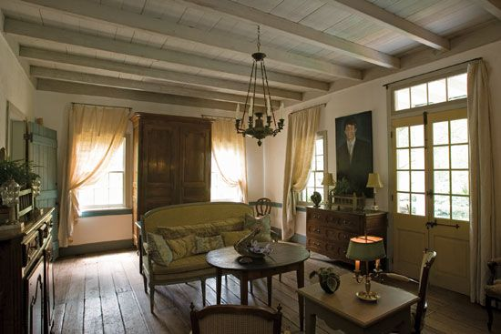 Bayou Beauty: A Mobile Cottage Home - Healthy Home ... on French Creole Decorating Ideas  id=93891