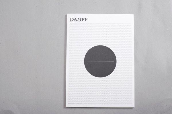 Dampf Magazine 2011 by Axel Walek, via Behance