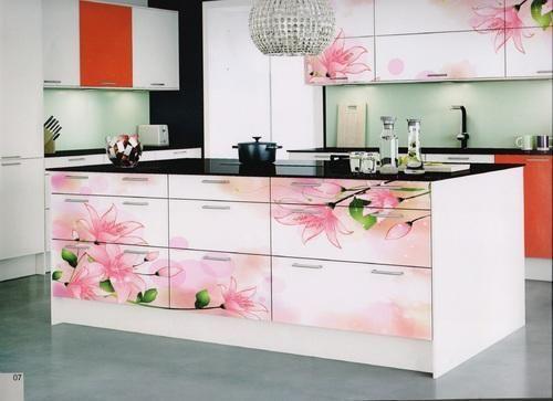 Kitchen Cabinet Laminate Screen Printeddigital Printed Pleasing Kitchen  Laminates Designs Review