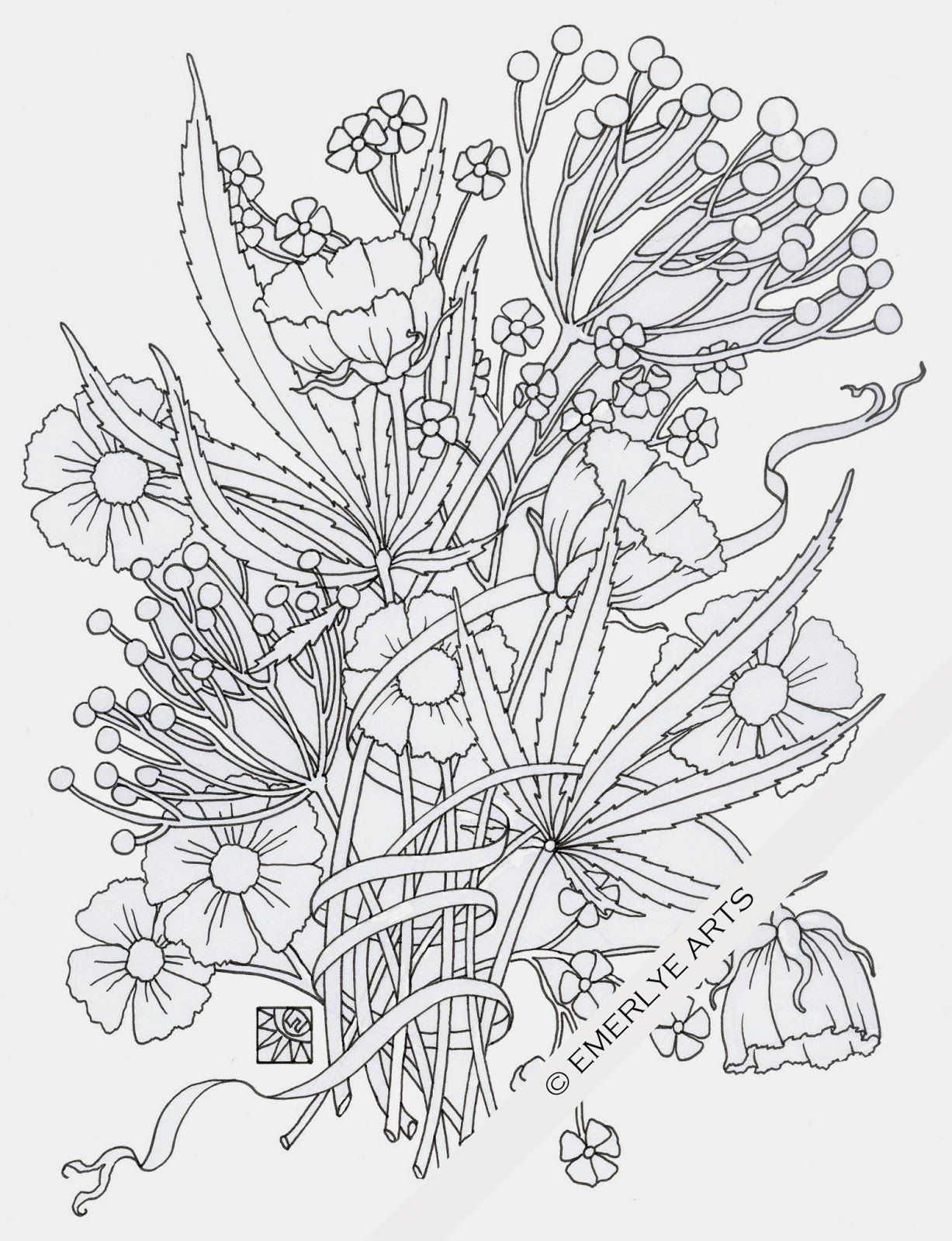 cynthia coloring pages - photo#45