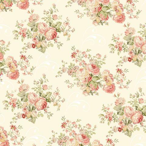 Papel De Parede Flores Rose WallpaperVintage Flowers WallpaperFlowery WallpaperPattern