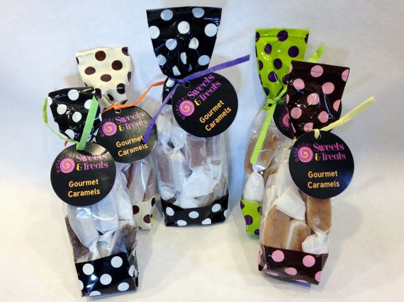 Secret Santa Candy Treat Gourmet Caramels by BotanicalSweets