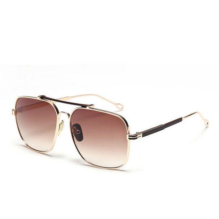 0ec159c75fc4 Dita Brown Retro Vintage Style Aviator Mens  Womens Sunglasses   fashion