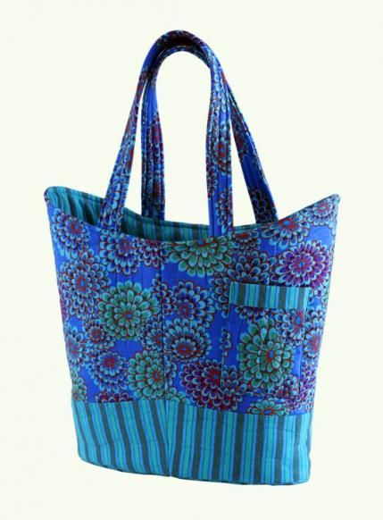 Free Bag Patterns | AllPeopleQuilt.com | sewing projects ... : how to make quilted tote bags - Adamdwight.com