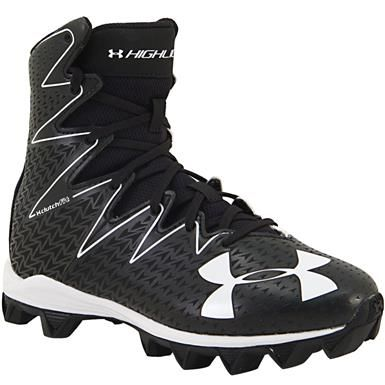 purchase cheap f2d8b 1c01b Under Armour Highlight Rm Football Cleats - Boys Black White