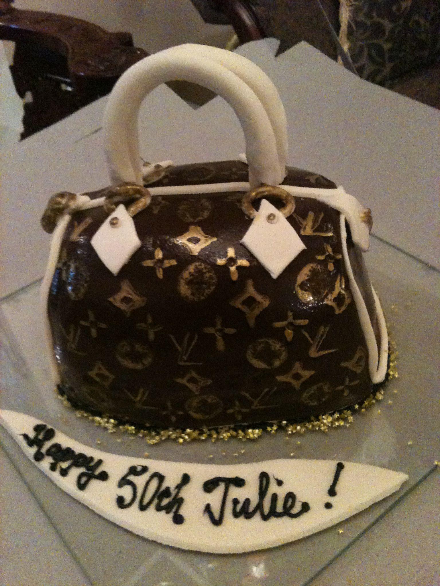 Trifles Designer Handbag Birthdaycake Birthday Cakes Pinterest