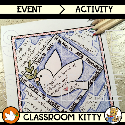 Harmony Day TShirt Activity Harmony day activities