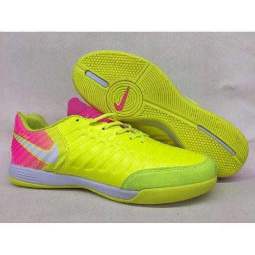 new arrival 1e469 c5caa самые лучшие Nike Tiempo Legend VII IC желтый Розовый белый Футбольные  бутсы для игры в зале на поле