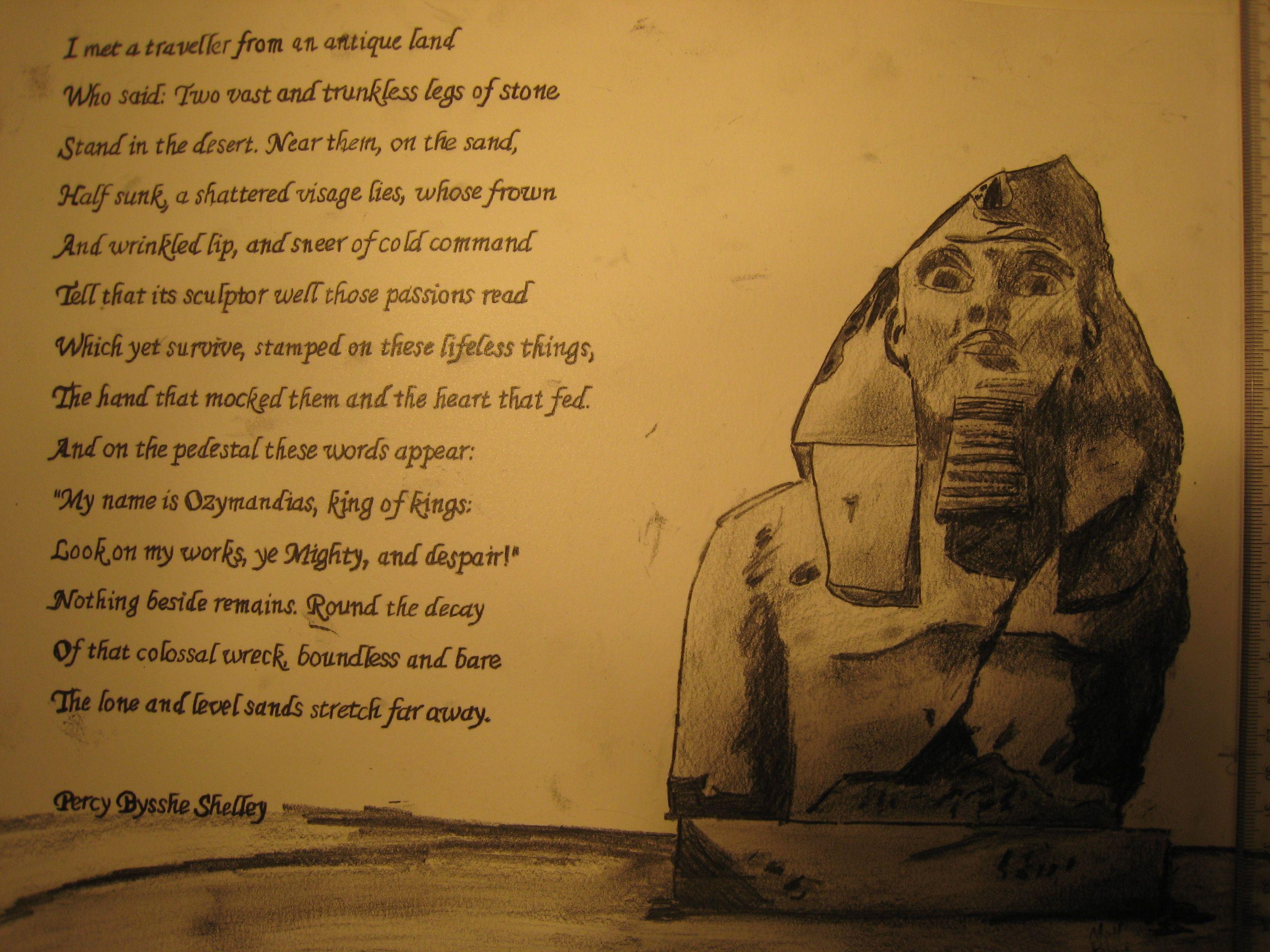 the poem ozymandias by percy bysshe shelley