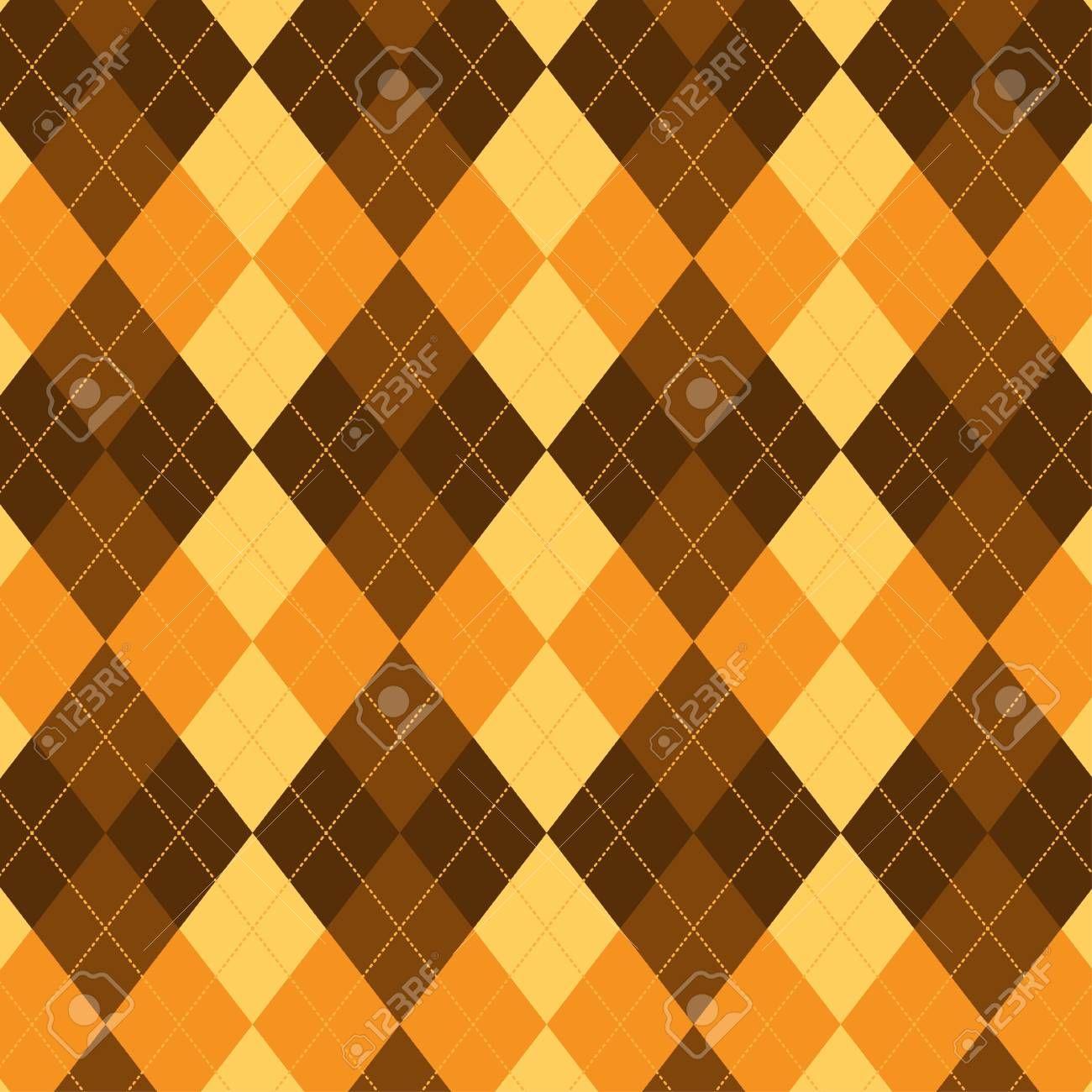 Seamless argyle pattern. Diamond shapes background. , AD