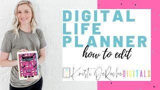 Quick Tips for Digital Planning Beginners - Kristi DeRoche TPT