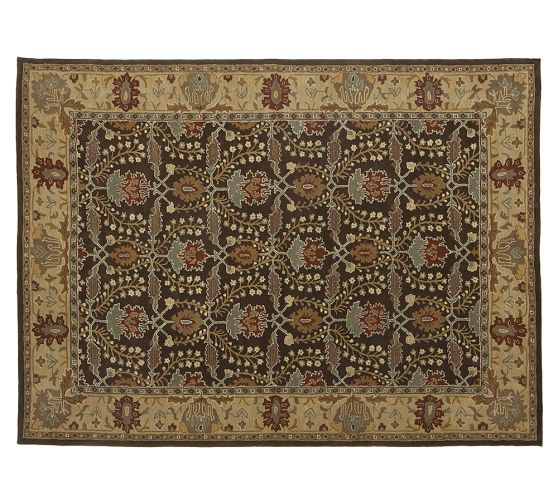 Brandon Persian Style Hand Tufted Wool Rug Persian Style