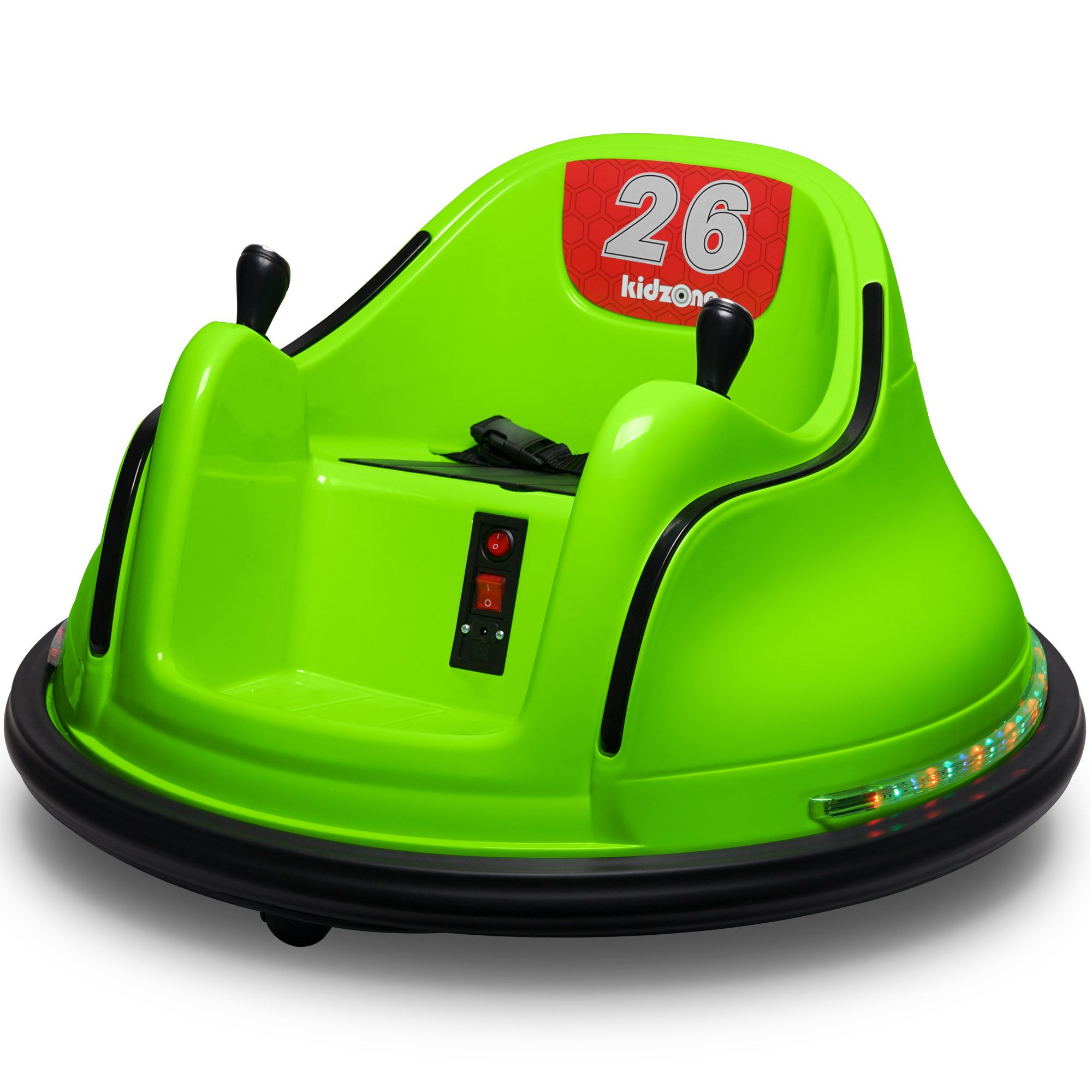 Kidzone DIY Number 6V Kids Toy Electric Ride On Bumper Car