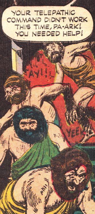 """comicslams: """" Captain Venture - Jungle Ruin, 1965 """""""