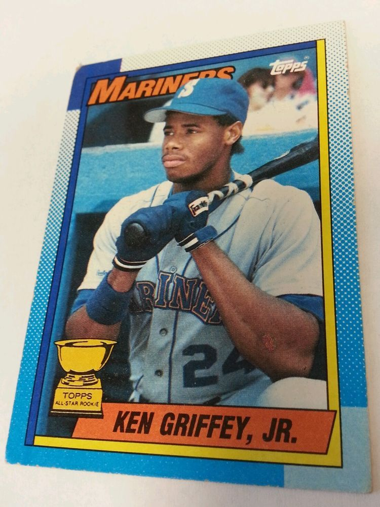 1990 Topps 336 Ken Griffey Jr Rookie RC Seattle Mariners