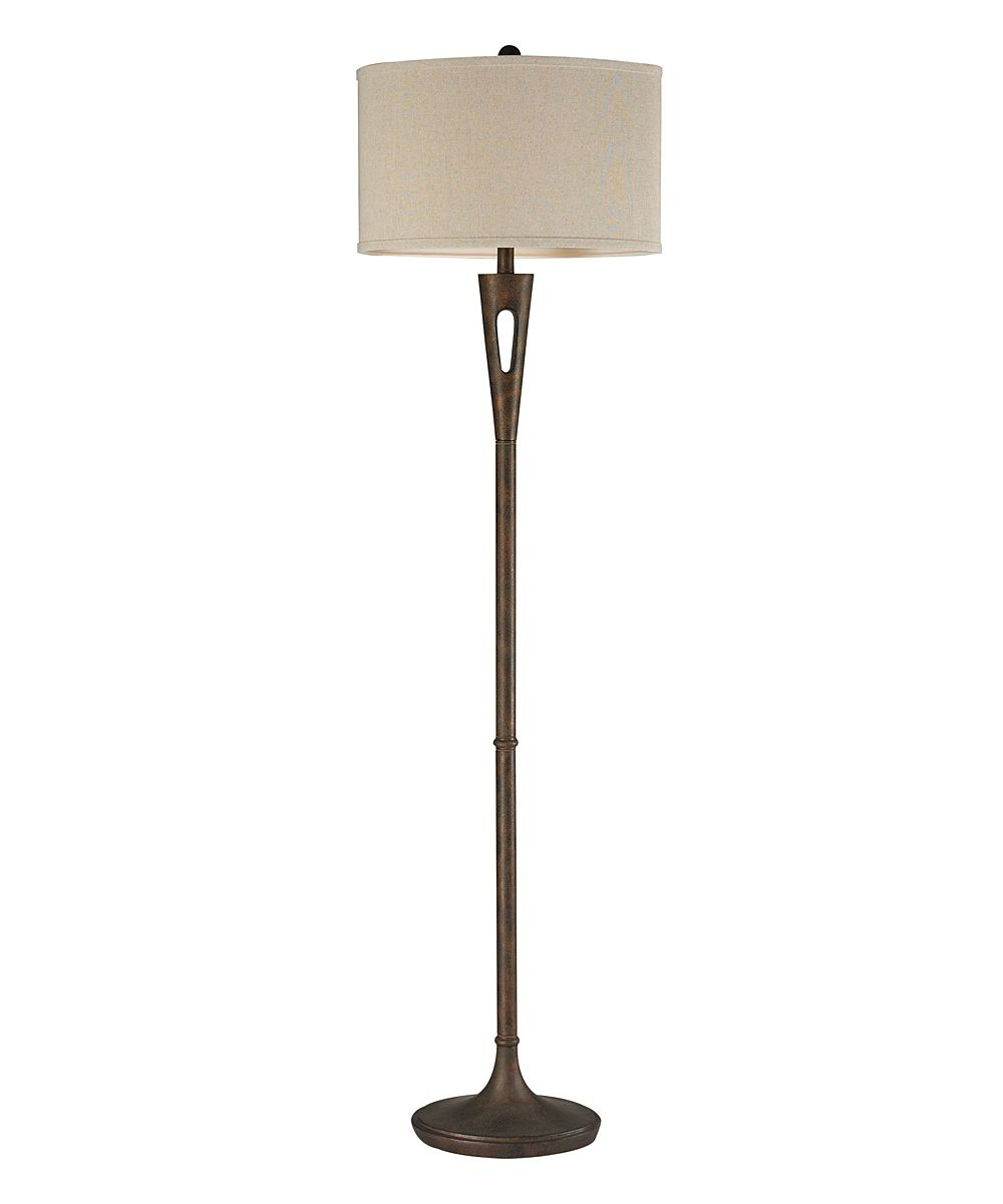 Photo of Burnished Bronze Martcliff Floor Lamp