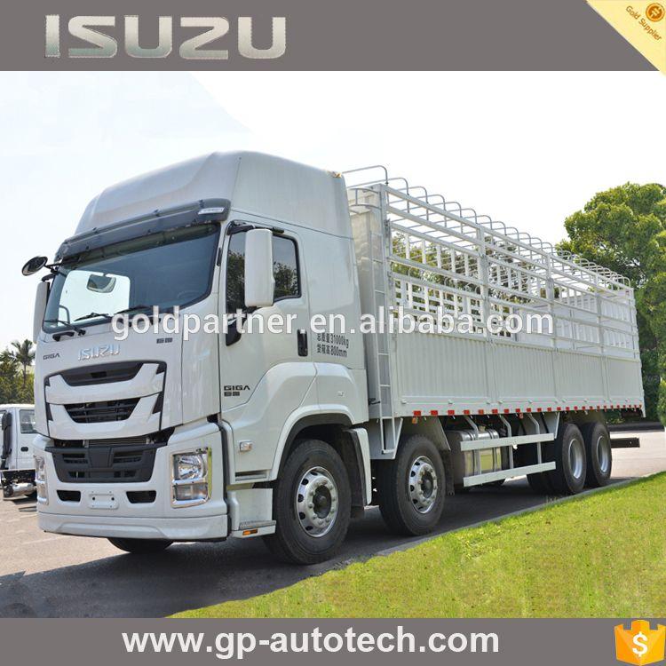2017 new Isuzu GIGA Super 6x4 380PS G-cargo Truck