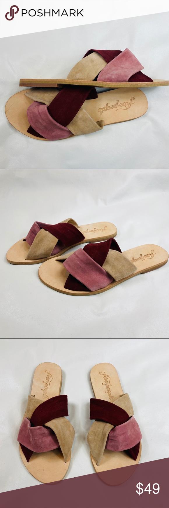 New Free People Rio Vista Slide Sandal Free People Shoes Sandals Slide Sandals Women S Shoes Sandals