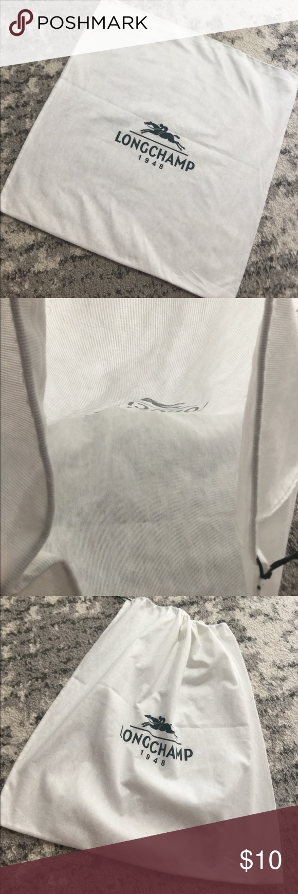 23f5d1da3878 Longchamp 19.5x20 Square Dust Bag Gently used. No stains or tears.  Longchamp Bags