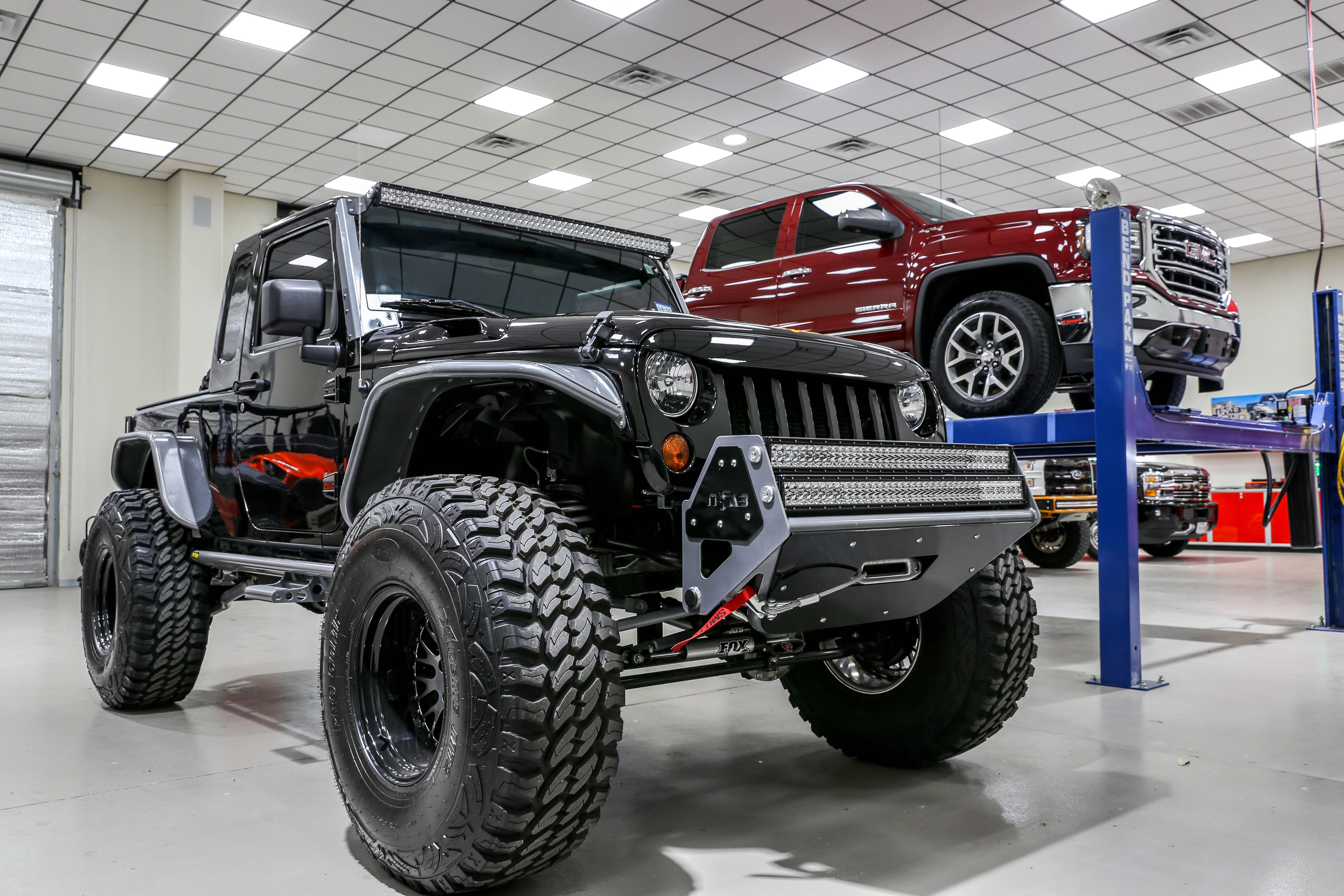 nFab's JK8 featuring our NightHawk Light Brow... Their