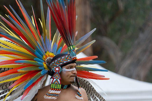 Aztec Headdress | Aztec headdress, Headdress, Aztec warrior