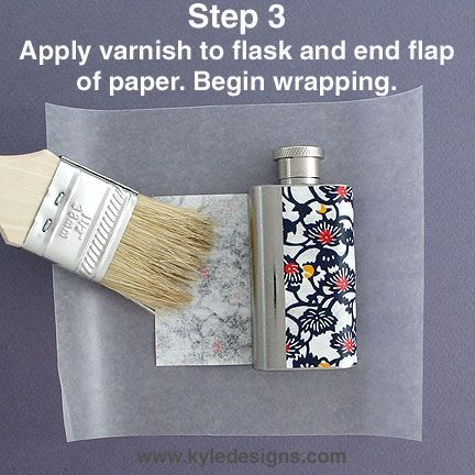 Decoupage flask cover diy gifts pinterest flask diy craft decoupage flask cover diy sorority solutioingenieria Gallery