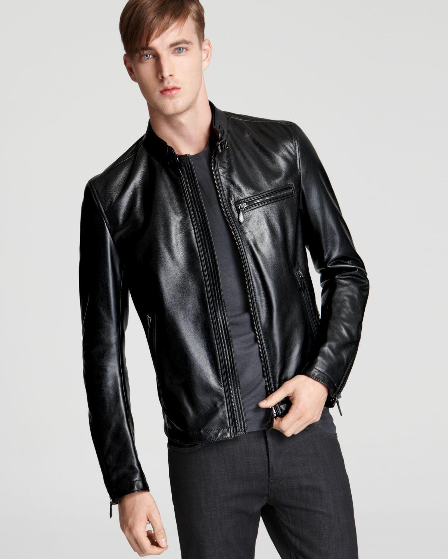 Burberry Sterling Leather Coat Men Coats Jackets Bloomingdale S Leather Coat Leather Jacket Mens Coats [ 1500 x 1200 Pixel ]
