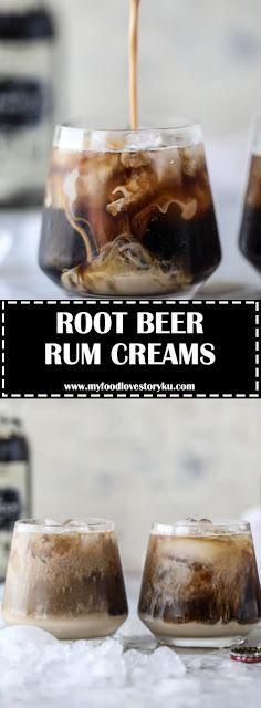 ROOT BEER RUM CREAMS -