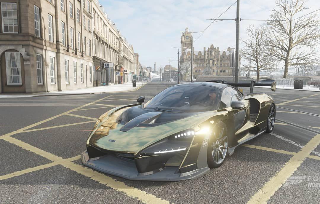 Forza Horizon 4 Mclaren Senna Edinburgh Princes Street Einrib13