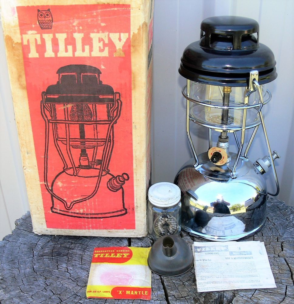 As New Tilley X246b Kerosene Lantern In Box With Accs