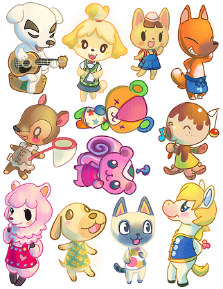 Milk Animal Crossing Animal Crossing Characters Animal