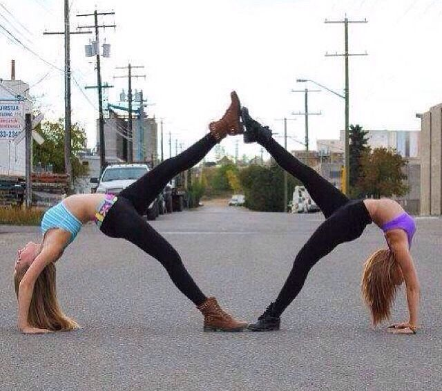 Cool Two Person Stunt Ideas #Health #Fitness #Trusper #Tip