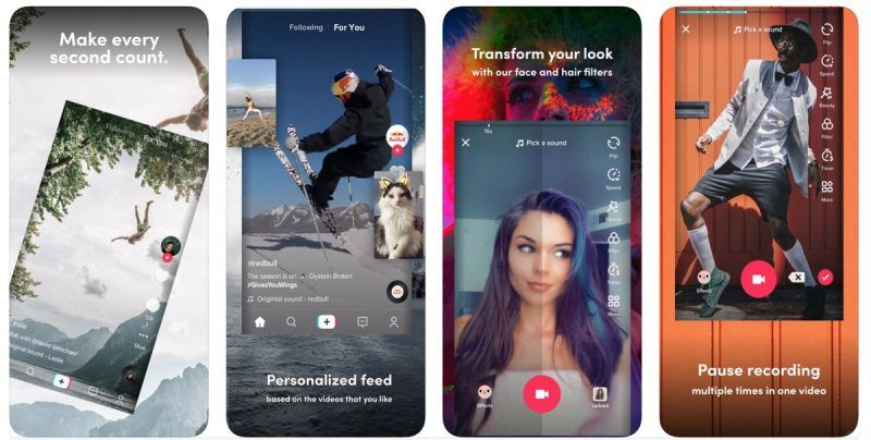Tiktok Make Your Day On The App Store People Videos Real Video Make It Yourself