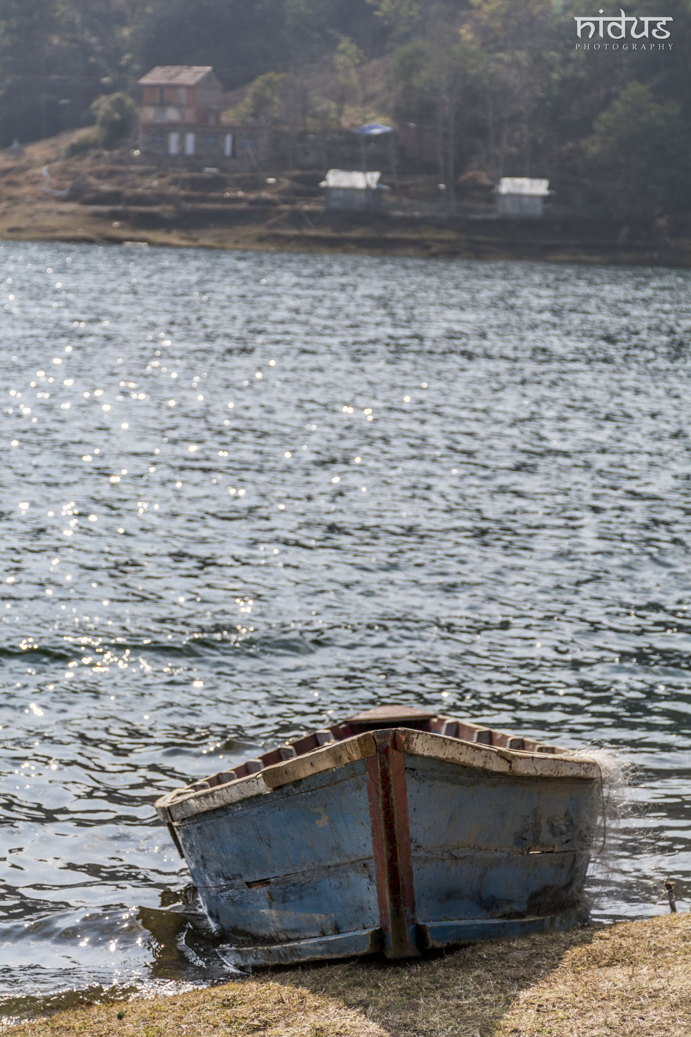 Boat and Water - sometimes even a simplest things attracts us a lot...