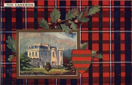 Picture of Clan Table Mats - Cameron
