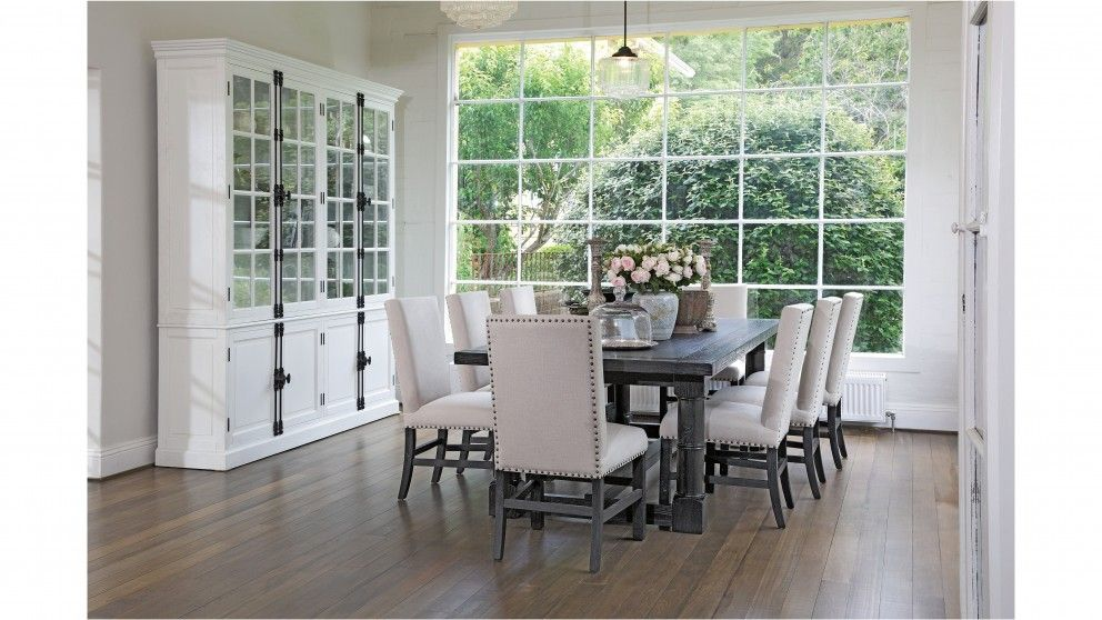 French Bordeaux 9 Piece Dining Setting Dining Furniture Dining