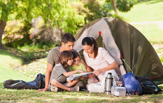 how to plan a successful family camping trip travel pinterest