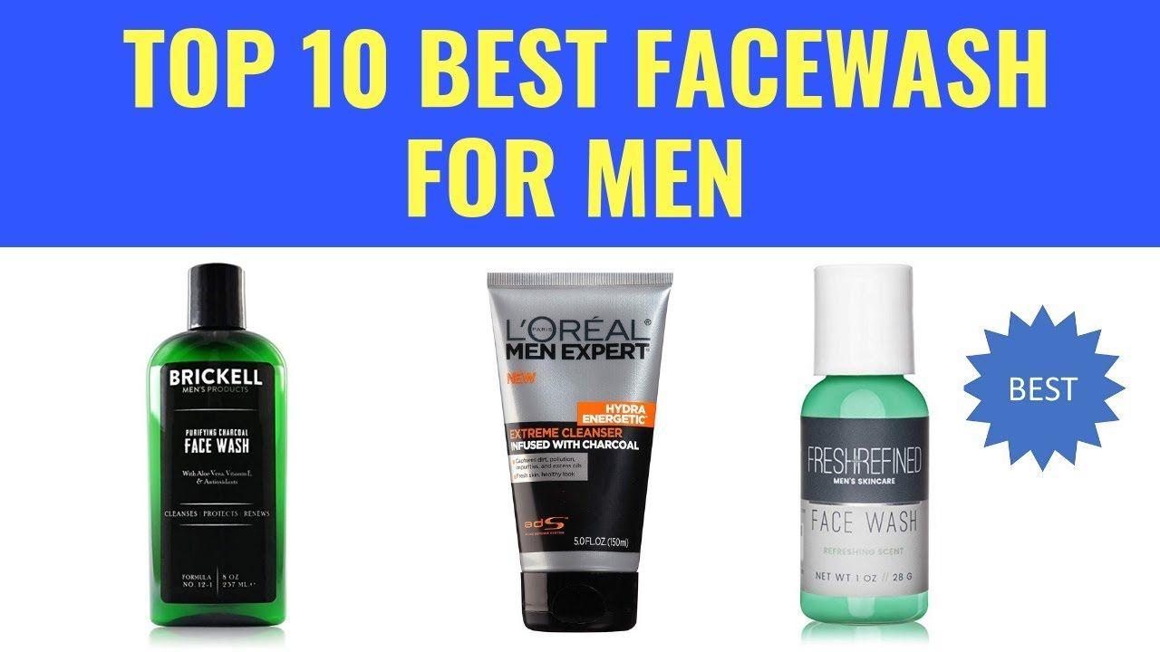 Top 10 Best Facewash For Men Oily Skin Face Wash Face Wash For Men Organic Face Wash