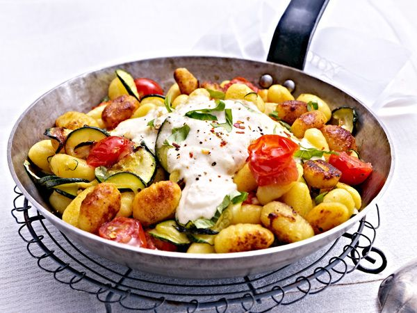 schnelle rezepte für jeden tag - gnocchi-pfanne rezept | rezepte ... - Rezept Des Tages Schnelle Küche
