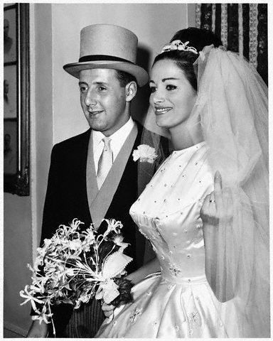 Wedding in 1960.
