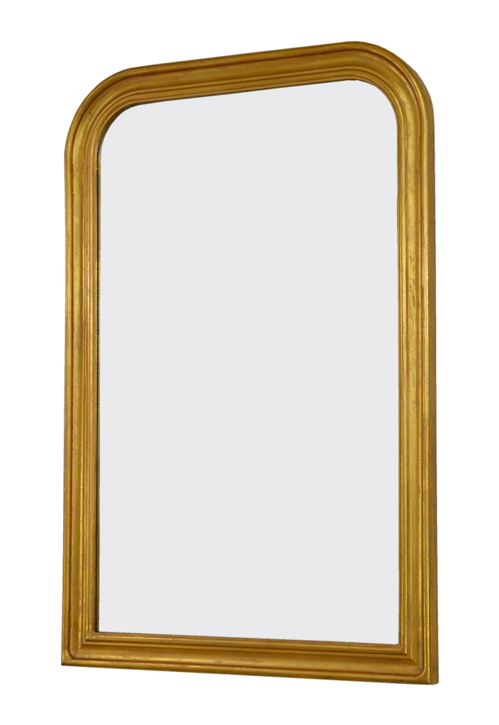 Fm103 Gold Louis Philippe Wall Mirror In 2021 Wooden Mirror Frame Gold Mirror Wall Mirror Wall