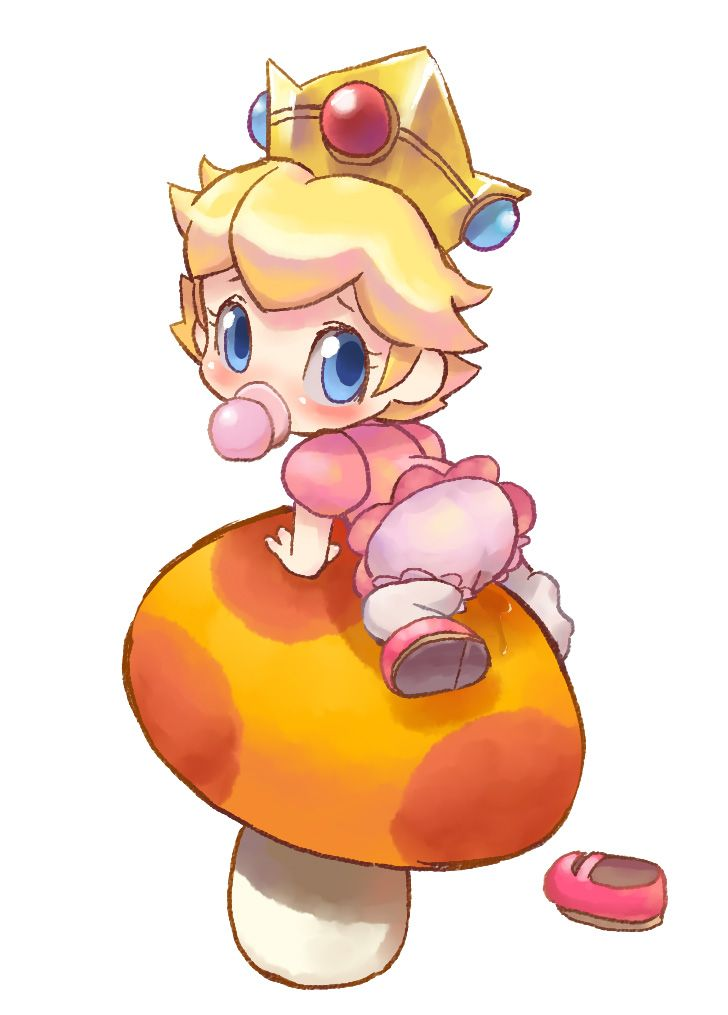 Baby Peach By Knattoh On Deviantart Peach Mario Super Mario Art Mario Fan Art