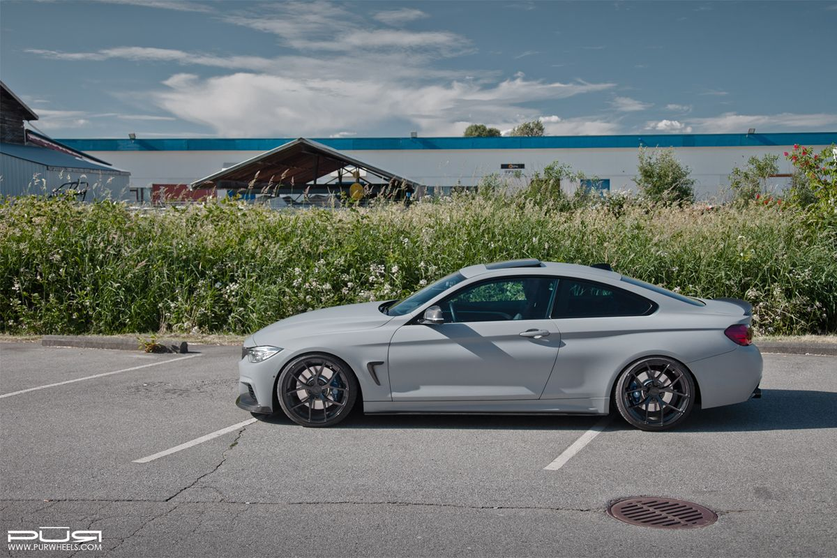 Featured Fitment BMW Xi With PUR OURSP Wheels BMW Wheels - 435xi bmw