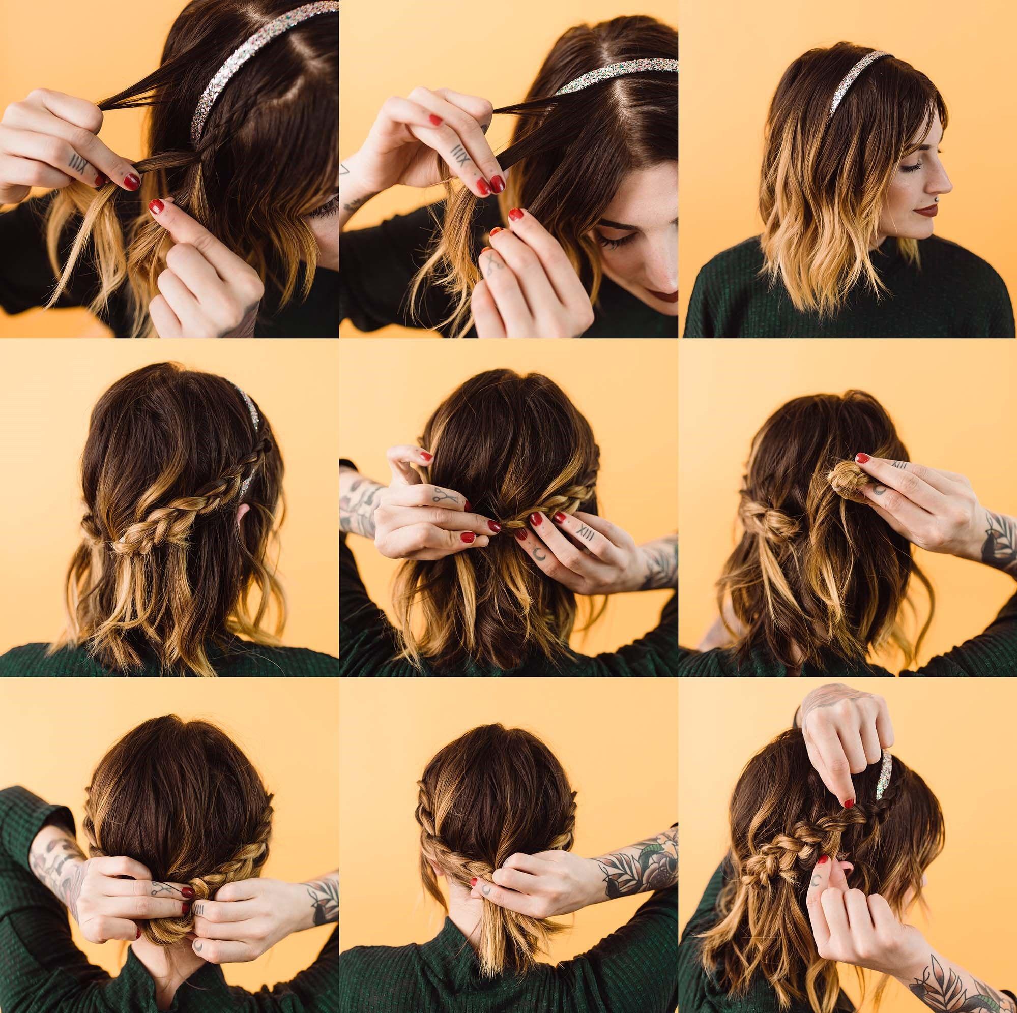 10 coiffures simples pour les cheveux longs que vous pouvez créer en 10 minutes   Faire un ...
