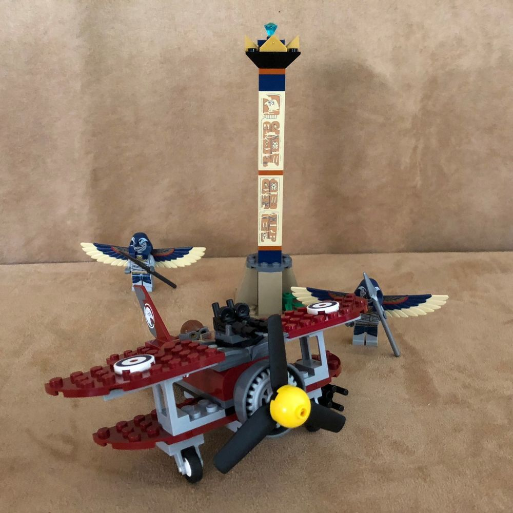 7307 Lego Flying Mummy Attack Complete minfiigures