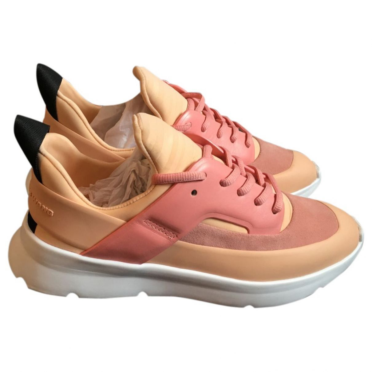 Pink trainers ALEXANDER WANG Pink