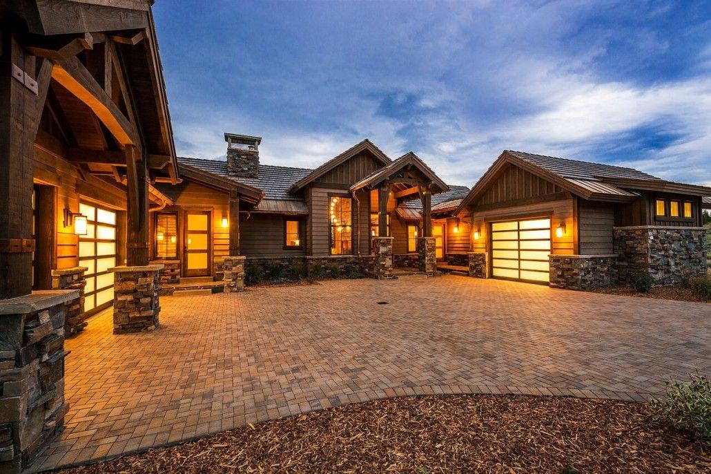 Glenwild Rambler Park City Exterior Front Of House Dream Home Ideas Utah Home Builders Custom Home Builders Home Builders