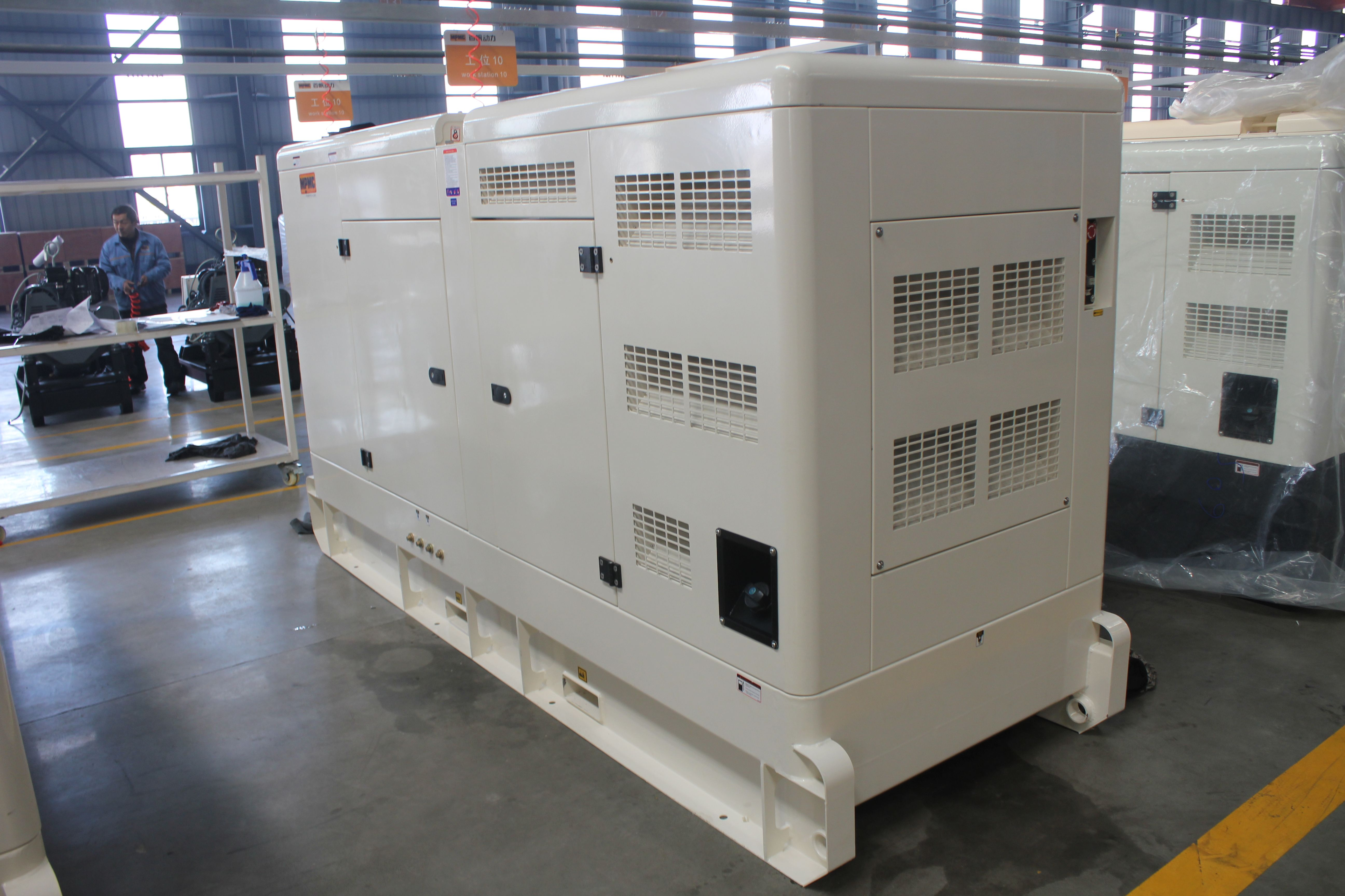 MPMC Duetz 100kva silent genset Diesel generator