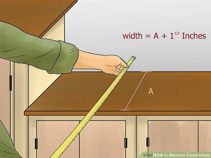 Measure Countertops Countertops, Kitchen countertop